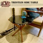 ACME FURNITURE TRESTLES SIDE TABLE 31,320yen