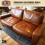 ACME FRESNO LEATHER SOFA 2P 248,400yen