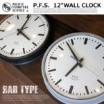 PACIFIC FURNITURE 12 WALL CLOCK BAR 8,640yen