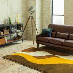 unico FRAYE leather sofa 3 seater 190,080yen