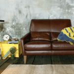unico FRAYE leather sofa 2 seater 153,360yen-
