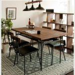Vintage wood dining 5 set 66,806yen