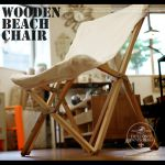 DULTON WOODEN BEACH CHAIR 12,960yen