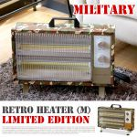 HERMOSA Retro heater M Limited Edition MILITARY 13,824yen