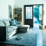 unico DELAVE Covering Couch Sofa Natural 176,040yen