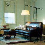 unico FRAYE Leather Ottoman 41,040yen
