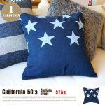 BasShu California 50'S Cushion Cover STAR NV 4,860yen