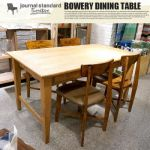 journal standard BOWERY DINING TABLE(バワリーダイニングテーブル) 77,760yen