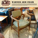 ACME FURNITURE WARNER ARM CHAIR(ワーナーアームチェア) 48,600 yen