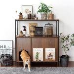 猫用トイレ収納ラック Selma(セルマ)ロータイプ 20,345円