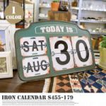 DULTON Iron Callender S-445-179 8,424yen