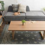 通年使えるシンプルデザイン SARTOS リビング長方形こたつテーブル 幅120cm 39,800円