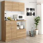 〈搬入・開梱・設置サービス付き〉キッチン家電が置けるキッチンボード【ATN】北欧ナチュラル 67,824円