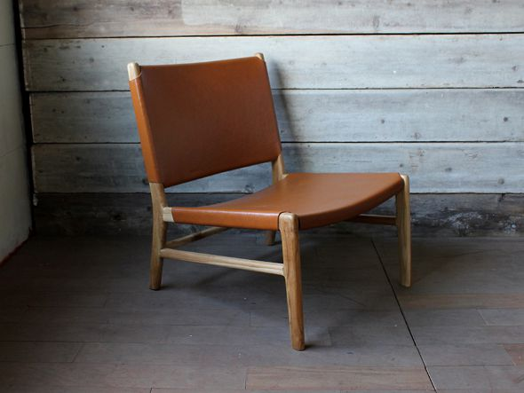 latte easy chair by teak wood camel
