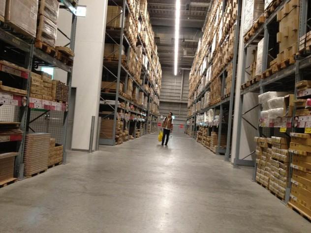 思い出の倉庫エリア