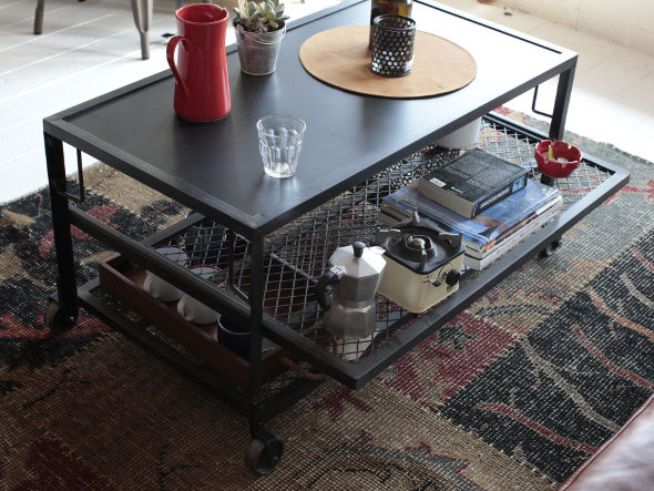 CRASH GATE Knot antiques CAGO COFFEE TABLE